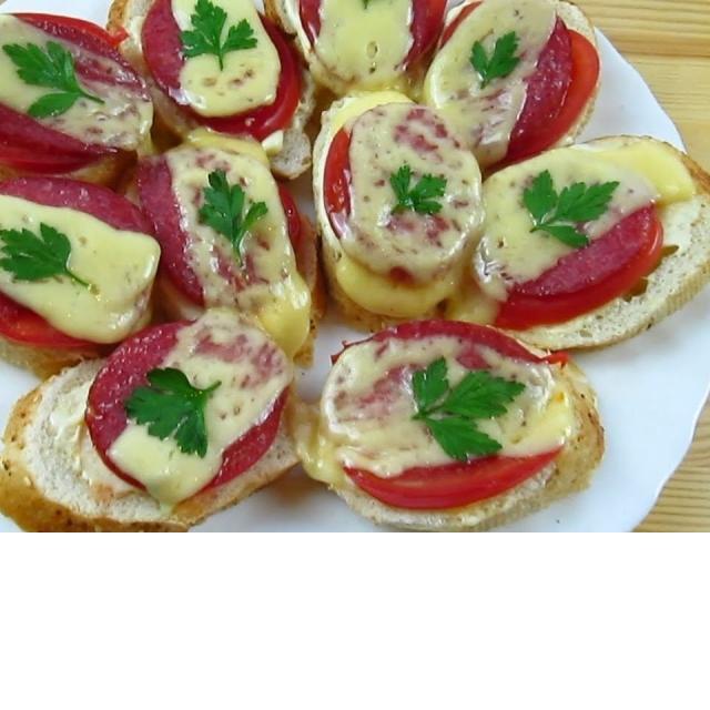 Горячие бутерброды в микроволновке. Вкусное меню  #40