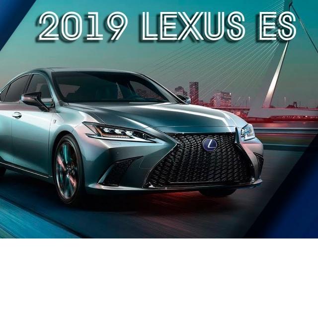 Новый Lexus ES 2019 | ОБЗОР Лексус ЕС 2019 Модельного Года/Новый Кузов