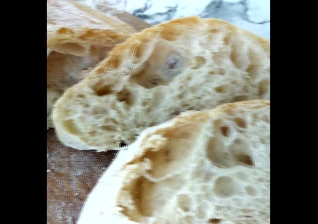 Чиабатта. Итальянский хлеб