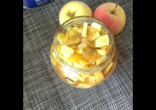 Вкуснейший яблочный джем за 3 минуты