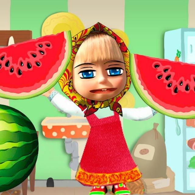 Маша и странный мячик Сборник мультиков для детей Все серии про Машу Cartoon for kids
