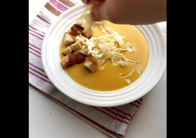 Тыквенный крем суп пюре