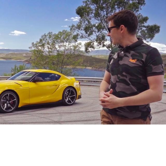 TOYOTA SUPRA A90 Первый тест-драйв и обзор Тойота Супра 2020