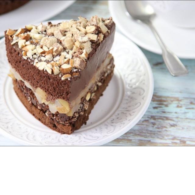 Шоколадный Торт Крустильян Без Сахара и Без Муки
