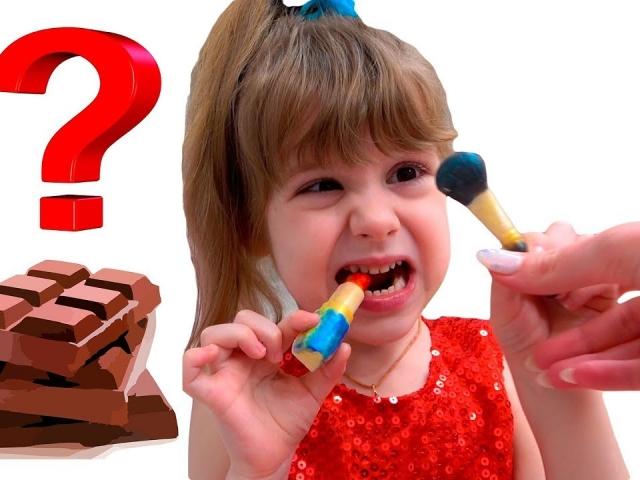 Сборник видео про игры в челлендж съедобное как шоколад и настоящее