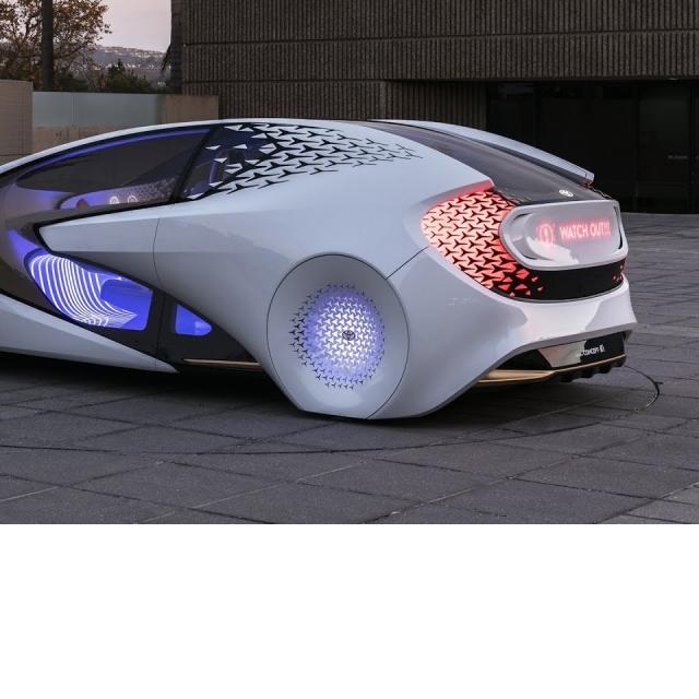 New Toyota Concept-i - interior Exterior (Fantastic Car)