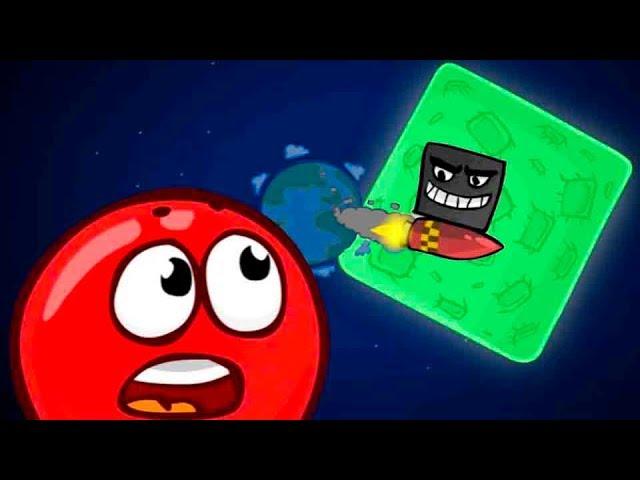 Красный шар 5 мультик игра - Битва за луну! Самые Новые игровые #Мультфильмы и видео для детей 2018