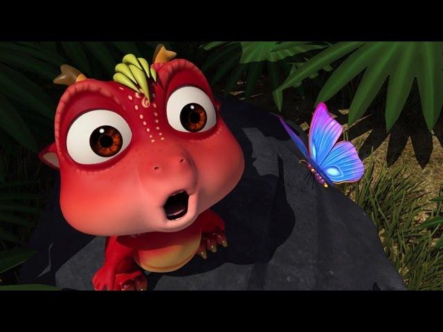 Мультфильмы детям/ Абу- маленький динозаврик, часть1