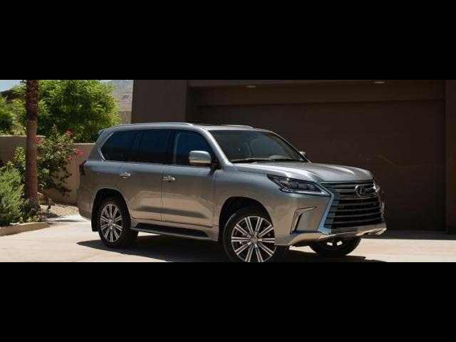 Отзыв Lexus LX 570 2016  года