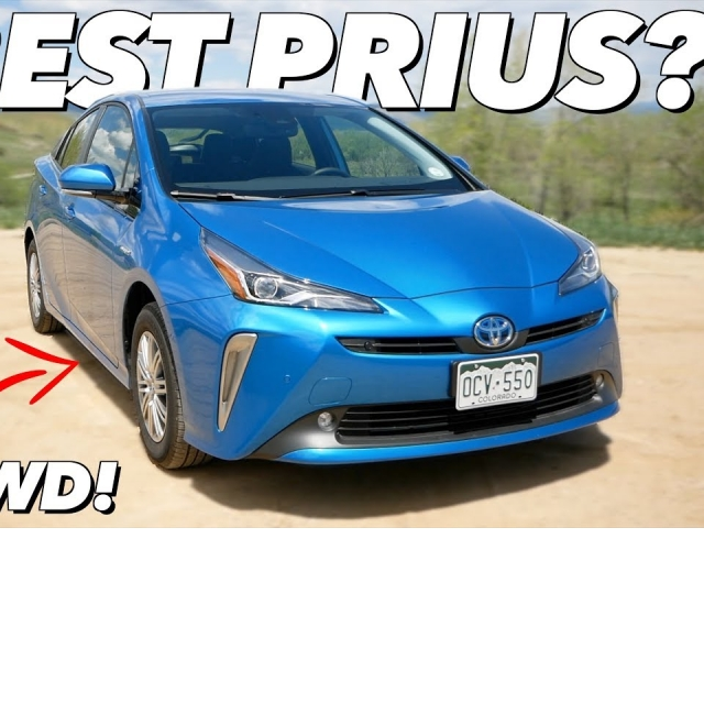 Here's What Makes the 2019 Toyota Prius AWD-e Surprisingly Great - And Where it Suffers