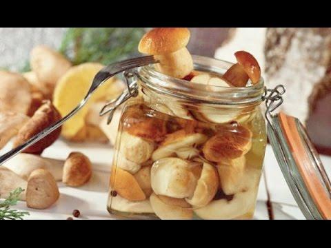 Маринованные белые грибы | Домашнее консервирование