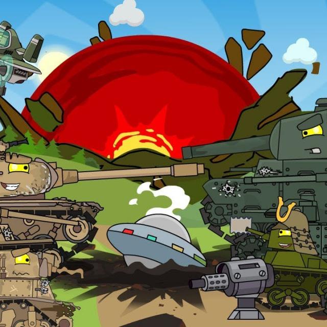 Второй сезон Противостояние США и Японии Мультики про танки