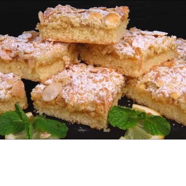 Тертый Лимонный пирог или лимонное песочное печенье
