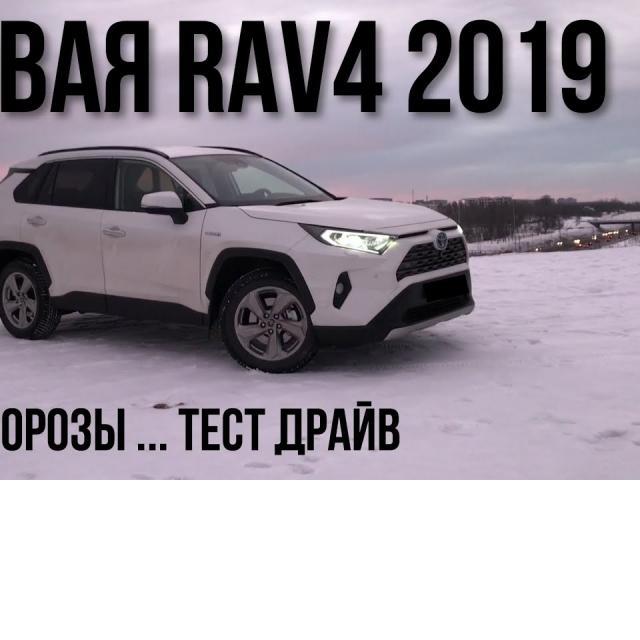 Toyota RAV4 2019 Тест Драйв Обзор Впечатления