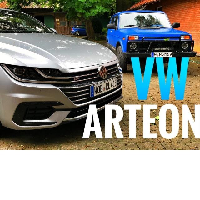 Тест VW ARTEON 280 сил-самый крутой VOLKSWAGEN Подробный обзор новинки + 0-100 км/ч и Нива