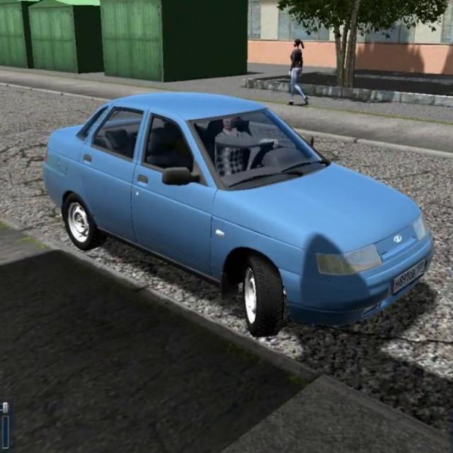 Тест-драйв  LADA 2110|Обзор|Моды на City Car Driving.
