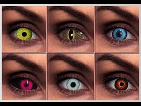 Склеились линзы? Как правильно одеть и снять контактные Цветные контактные линзы Ultra Flex