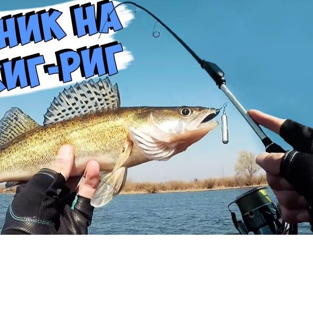 Ловля окуня и судака на ДЖИГ-РИГ/Рыбалка на спиннинг весной