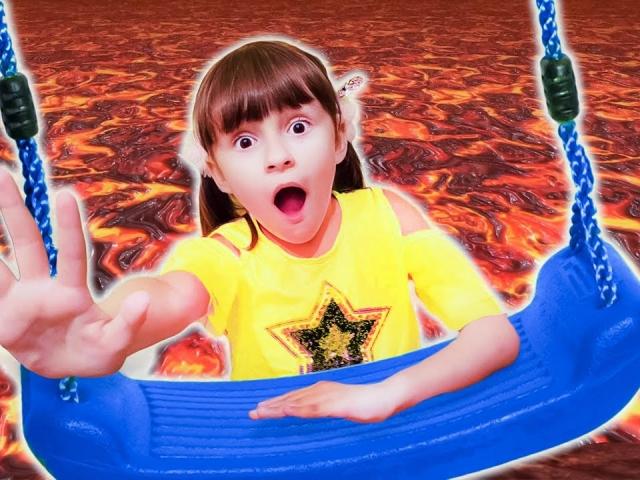 Пол - это лава. Международный детский челлендж с Машкиной Компашкой. 6+