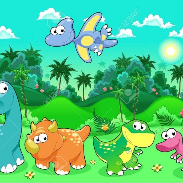 Динозавры мультики для малышей от 2 3 4 лет | Мультфильмы о динозаврах для детей