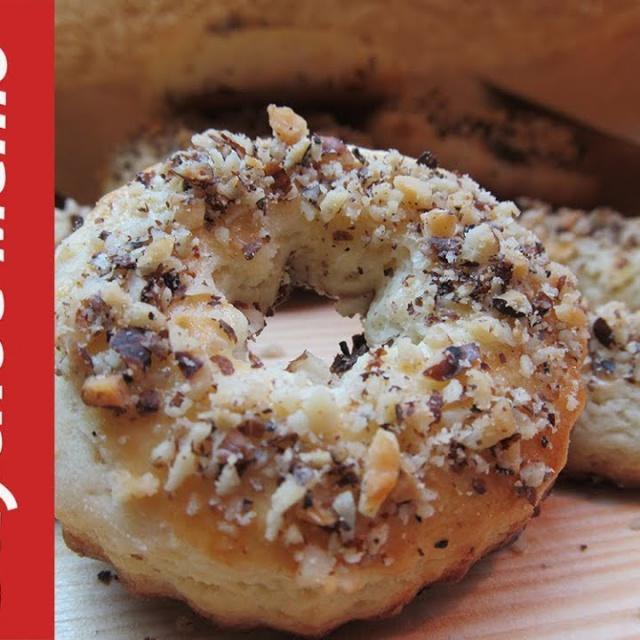 """Песочное печенье Ореховые колечки /  Shortbread cookies """"Nut rings"""""""