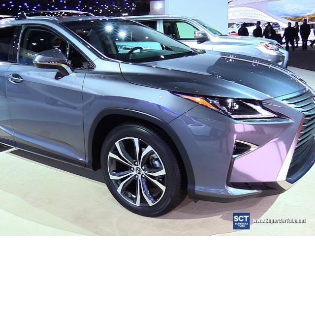 2019 Lexus RX 350 - Exterior and Interior Walkaround - 2019 Detroit Auto Show
