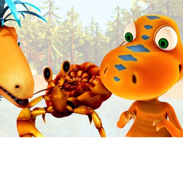 Развивающие мультики про Поезд Динозавров для детей Сборник