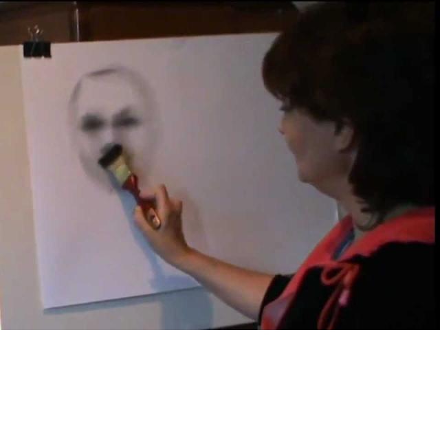 Как научиться рисовать/Рисуем портрет урок 2