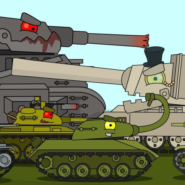 ТОП 6 Мультики про танки с глазками для мальчиков 6 7 лет