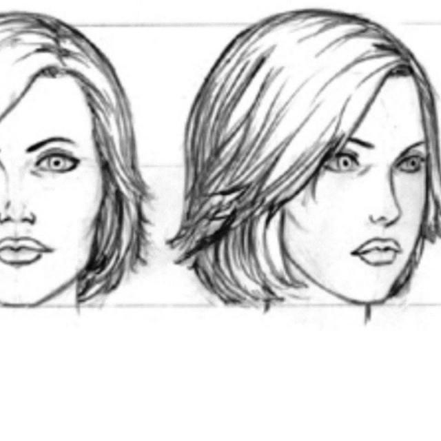 КАК нарисовать голову человека простой способ