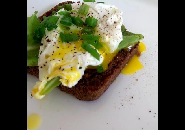 Божественный завтрак - Яйцо пашот