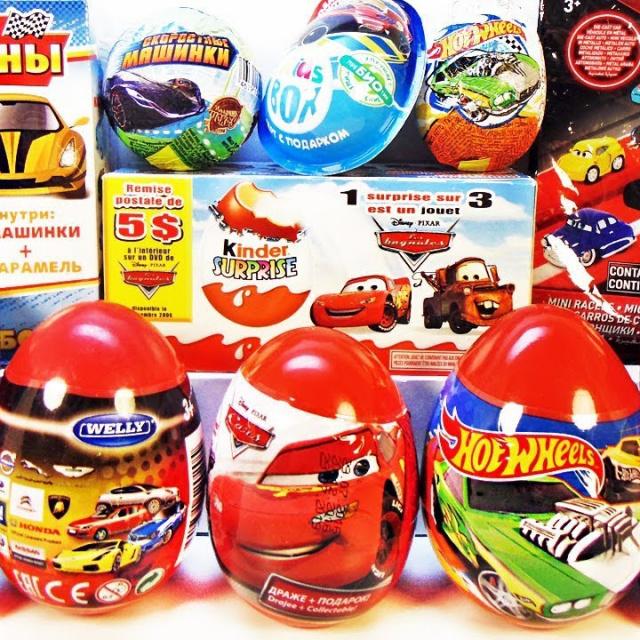 МАШИНКИ Mix СЮРПРИЗЫ игрушки мультики ТАЧКИ для детей
