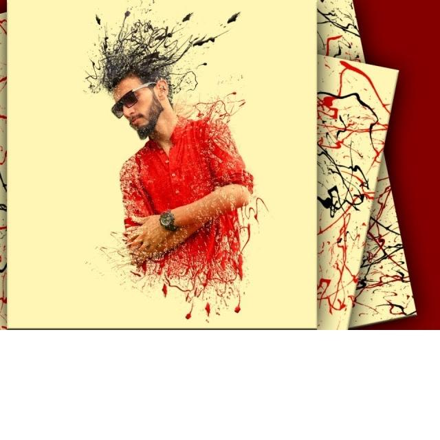 Обработка в абстрактном стиле/Оригинальный но простой аватар