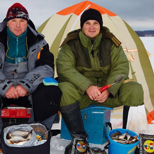 Ловля плотвы зимой на глубинах 4-7 метров (полная версия) [salapinru]