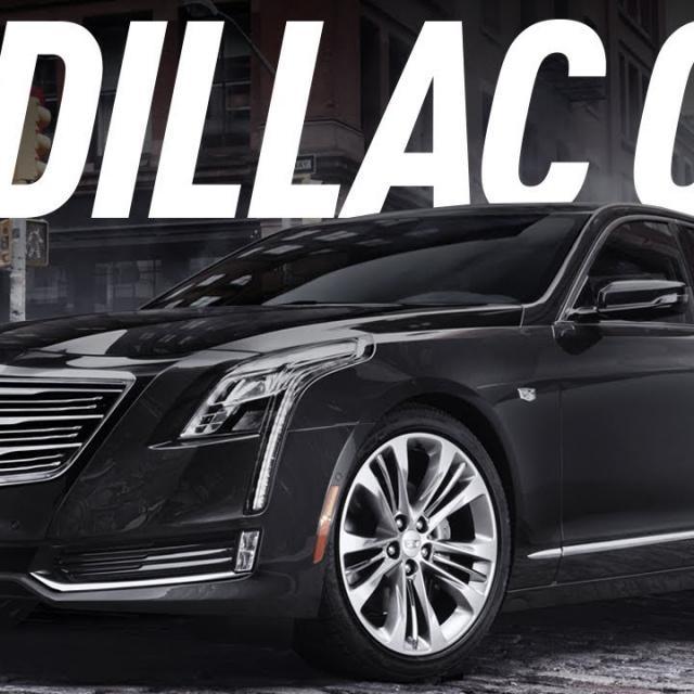 Американский шестисотый /Cadillac CT6/Кадиллак СТ6/Большой Тест Драйв