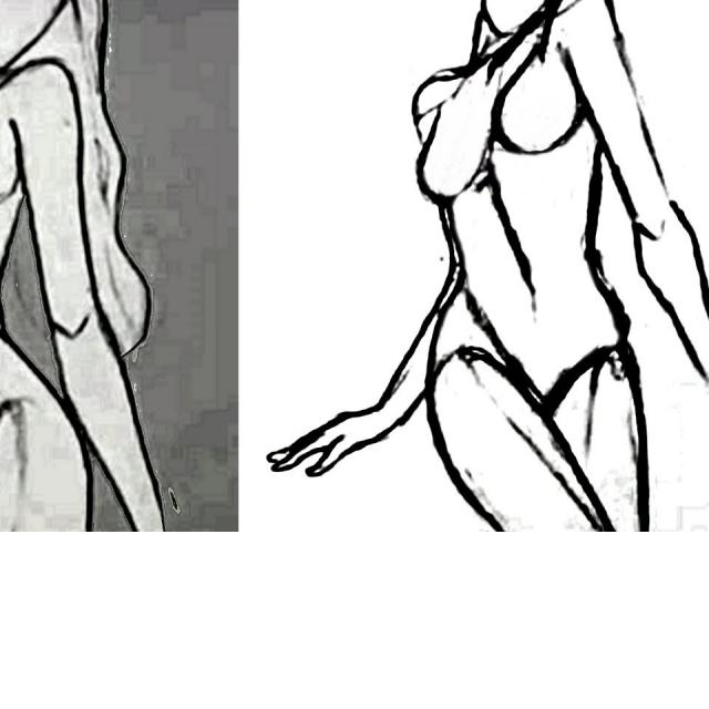 Как нарисовать тело человека карандашом ч 2