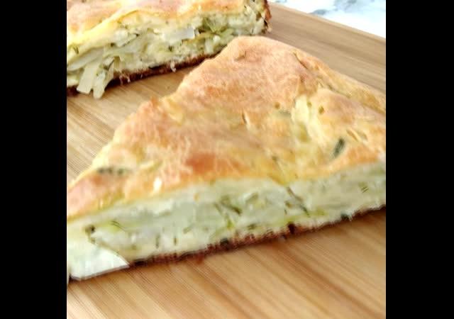 Пирог с капустой. Быстрый и простой рецепт без заморочек
