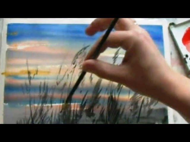 Как научиться рисовать/Сухая и Мокрая кисть