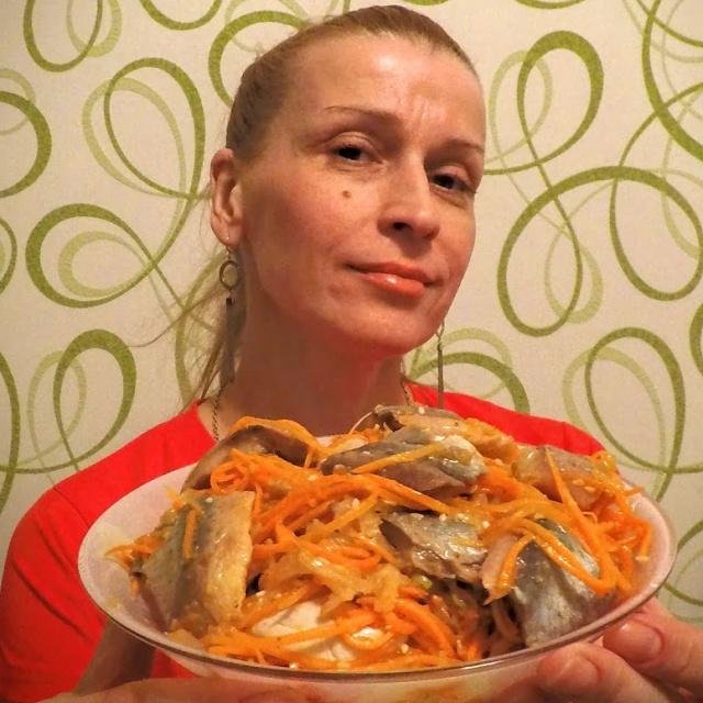 Вкусный рецепт хе из рыбы по корейски Секрет приготовления салата из сельди
