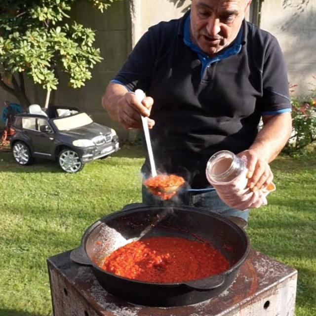 Приготовление вкусной аджики Рецепт от Жоржа