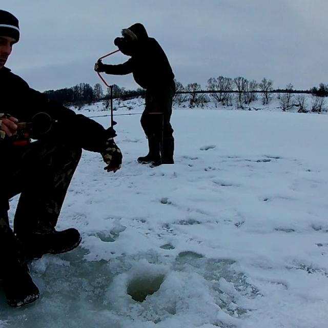 Зимняя рыбалка в феврале 2019