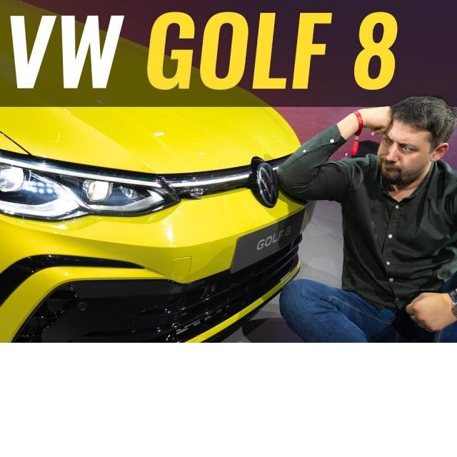 Новый GOLF 8 Всё на что способен VAG? Обзор Volkswagen Golf 2020