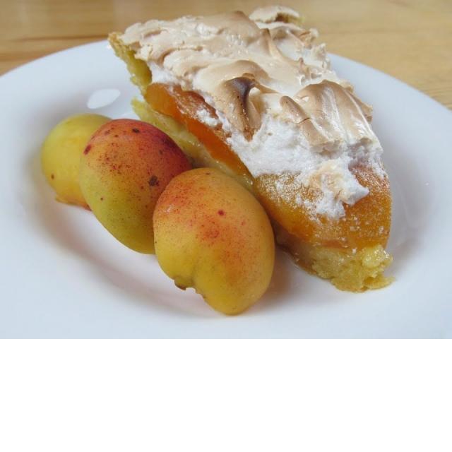 Абрикосовый пирог с меренгой / Вкусное меню #41