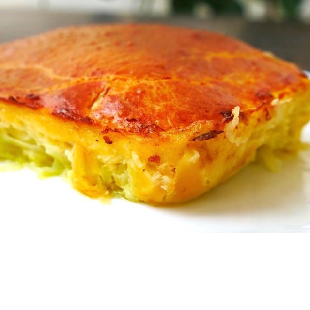 Капустный Пирог на Раз Два Три Рецепт выпечки Ольги Матвей