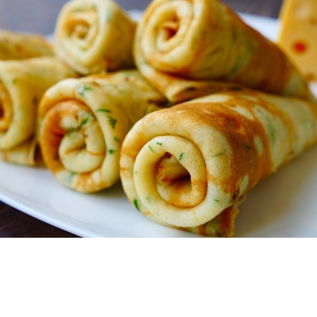 Вкусные Домашние Блинчики с Сыром | Рецепт Ольги Матвей