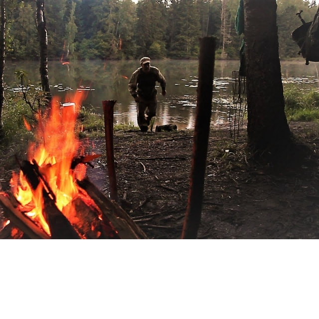 Рыбалка С Ночёвкой Как в Тайге Еда на Костре Грибной Суп Мясо на Огне