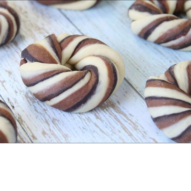 Шоколадные Булочки Красивые и Очень Вкусные   Рецепт Ирины Хлебниковой