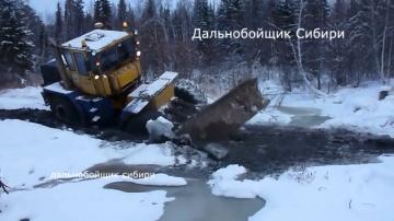 Тракторы уникальная подборка Кировец, МТЗ, ХТЗ месят грязь СНЕГ ЗИМА