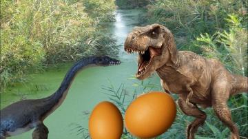 ТИРАННОЗАВРЫ и ПОИСК ПРОПАВШИХ ЯИЦ | Сборник мультиков про динозавров