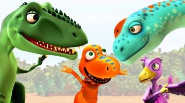 Мультсериал Поезд динозавров | Развивающие мультики для детей